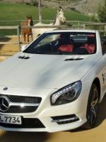 Mercedes-SL 500 Test Drive