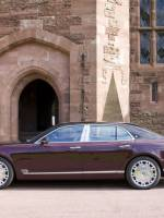 Bentley Mulsanne Diamond Jubilee edition side view