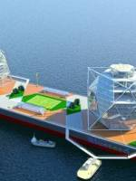 Blueseed's Floating concept vessels