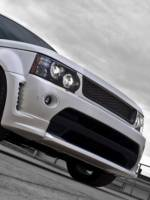 Kahn LE Range Rover Sport front right view