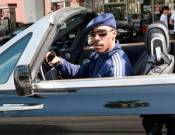Eddie Murphy drives Rolls Royce