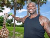 Shaq having fun time