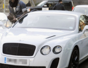 Bentley Continental GT is one of Manchester City striker Mario Balotelli's most prized autos.