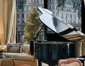 Grand piano in living hall
