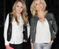Tiffany Trump and Marla Maples
