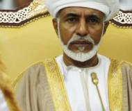 Sultan Qaboos bin Said Al Said in his palace