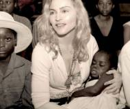 Madonna holds Mercy