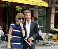 Anna Wintour and Calvin Klein
