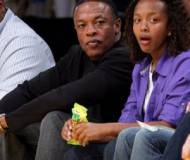 Dr. Dre with his daughter