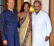 Vladislav Doronin and Naomi Campbell in India