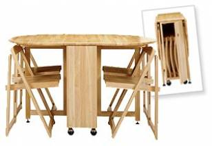 Butterfly Folding Dining Table by John Lewis