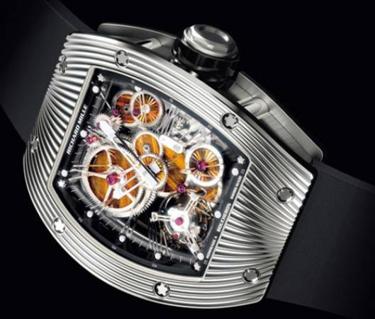 $1 million wristwatch made of meteorites