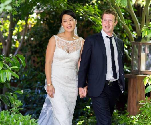 Mark Zuckerberg and wife are US Top Philanthropists for 2013
