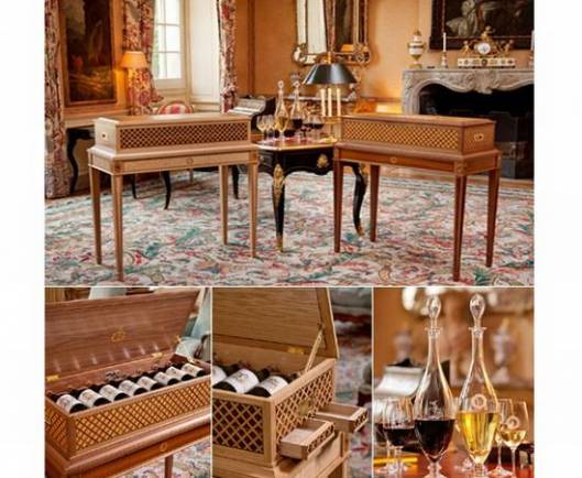 Limited Edition Château Haut-Brion Wine Consoles designed by Prince Robert up for auction