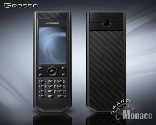 Gresso Grand Monaco limited edition phone boasts of all-black detailing