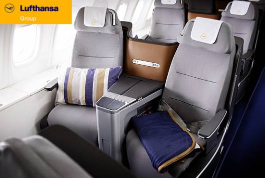 Lufthansa introduces fully flat seats on business class flights