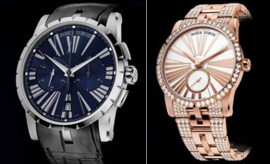 Roger Dubuis unveils new watches in the Excalibur collection