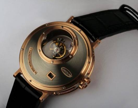 Thomas Prescher Nemo Captain Triple Axis Tourbillon Watch is for Steampunk Lovers