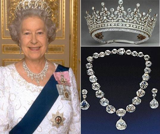 The royal jewels goes on display at Buckingham Palace to mark Queen's diamond jubilee