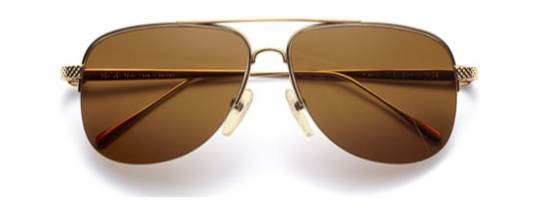 Bentley Yellow Gold Sunglasses