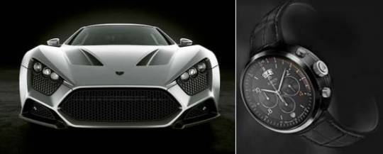 The Aspen One Zenvo watch inspired form Zenvo ST1 supercar