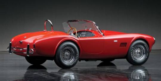 1963 Shelby 289 Cobra was kept by Colonel Kurt Carlson who worked for its restoration