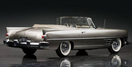 1958 Dual Ghia convertible was owned by songwriter Hoagy Carmichael
