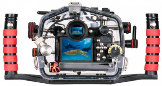 Ikelite Underwater camera dock (back view)