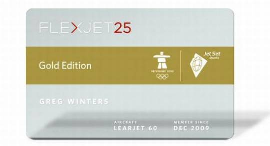 gold edition jet card