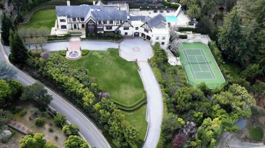 Tudor Estate with 185 foot long waterslide