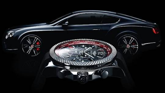 Breitling for Bentley limited edition GMT V8 watch