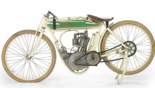 Steve McQueen's 1914 Indian Model F Board racing bike