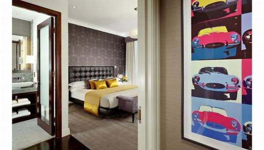The Jaguar Suite at London's Taj Hotel