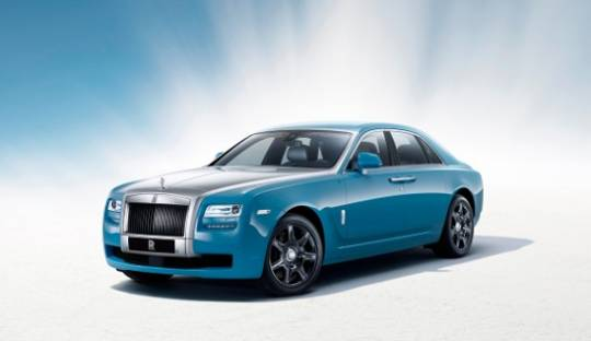 Rolls-Royce Ghost Alpine edition is a tribute to the 100 year old achievements at the  Austrian Alpine trials