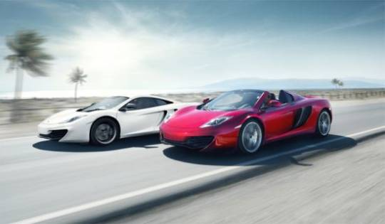 McLaren Mp4-12c and new Mp4-12C Spider