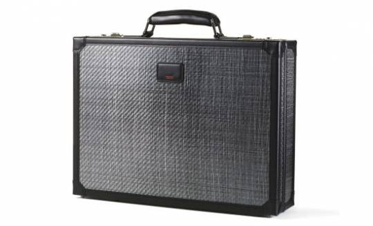 Tumi's high calibre bulletproof briefcase
