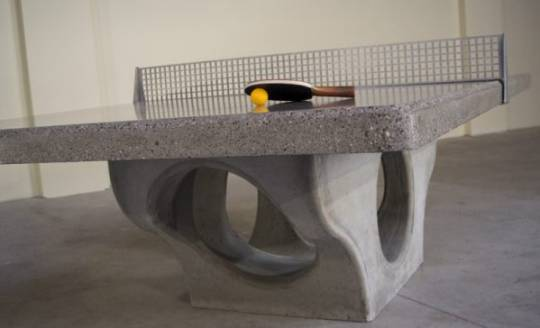 henge concrete table tennis platforms