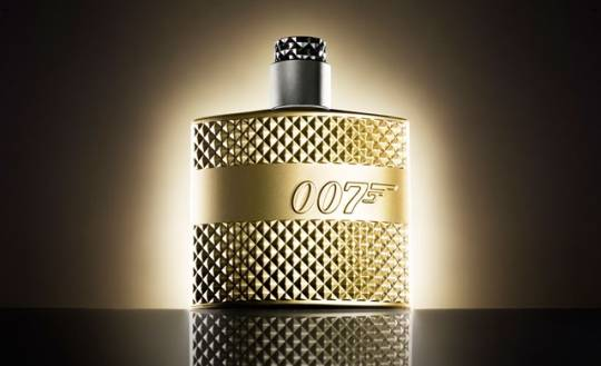 Golden James Bond 007 Perfume