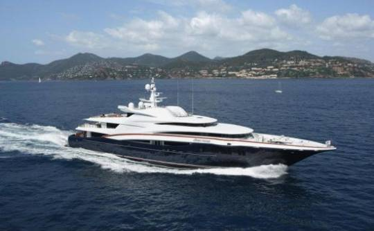 An iconic yacht, Anastasia, which was the Star of the 2008 Monaco Yacht Show.