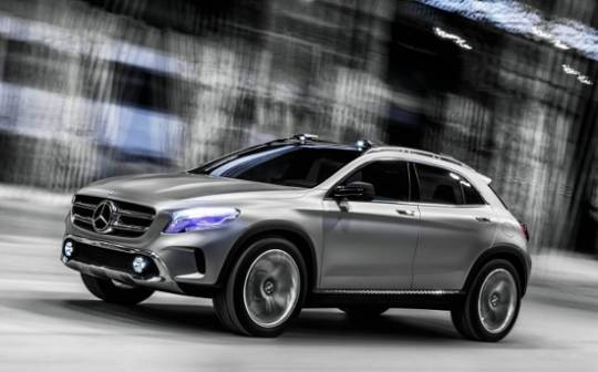 Mercedes-Benz GLA Concept SUV for the Shanghai Auto Show