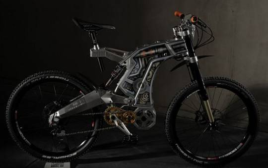 M55 e-bike Terminus Airbrush edition