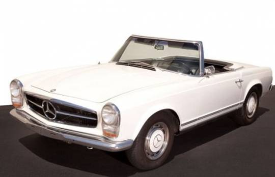 Natalie Wood's Mercedes 250SL Roadster/Coupe Automatic