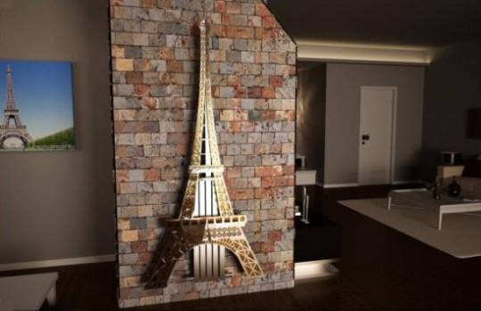 Art Radiator brings the charm of Paris in your home with its Eiffel Tower Radiator