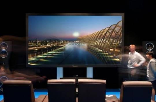 Panasonic's 152-inch TV