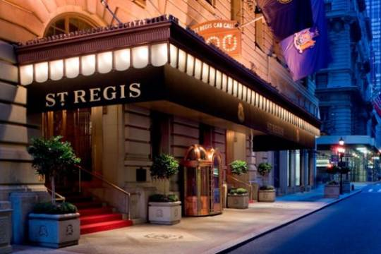 The St. Regis New York has unveiled its new Bentley Suite