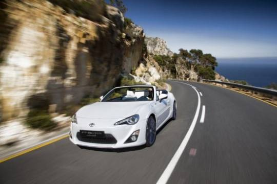 Toyota FT-86 Open Convertible Concept