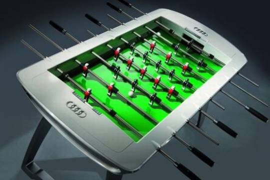 audi foosball table wrPcJ 1333