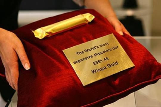 wispa gold most expensive chocolate bar