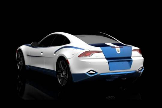 Fisker Karma goes colorful for 2012 SEMA Show
