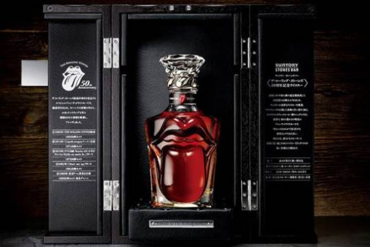 Suntory Releases Limited Edition The Rolling Stones 50th Anniversary Whisky
